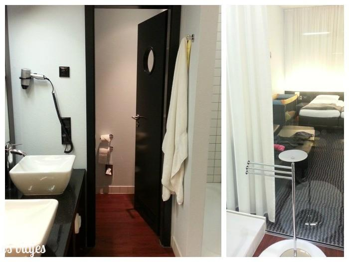 baño hotel Concorde