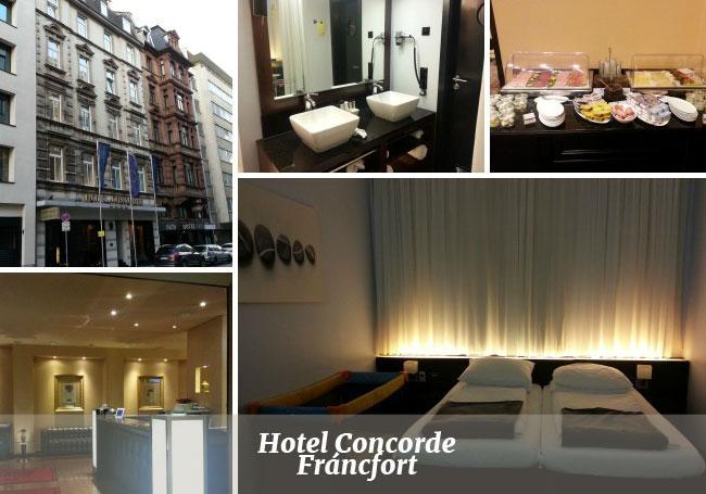 Hotel Concorde de Fráncfort