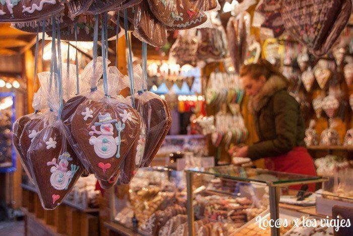 Puesto del Mercado de Navidad de Fráncfort