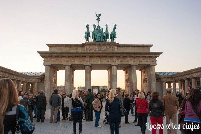 Parque Europa: Puerta de Brandemburgo