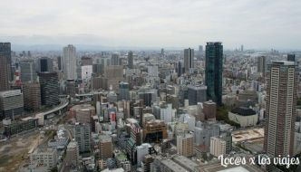Osaka desde las alturas