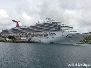 Nuestro barco: el Carnival Liberty