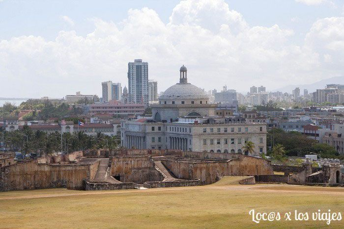 Capitolio visto desde el Castillo de San Cristóbal