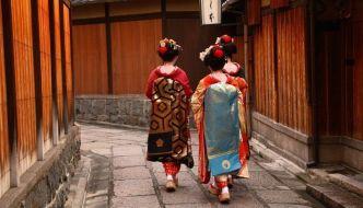 Geishas en Gion