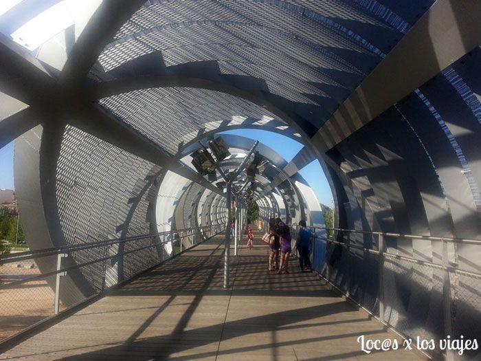 Puente Monumental de Arganzuela en Madrid Río