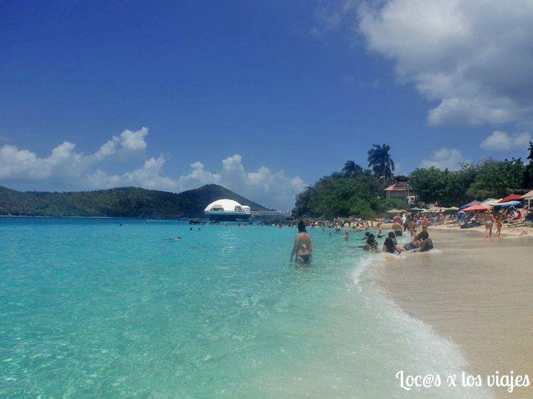 Playa de Saint Thomas, en las Antillas