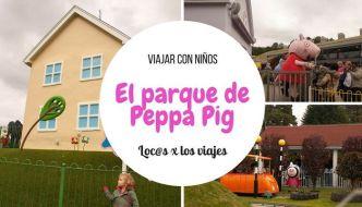 Viajar con niños: Peppa Pig World, el parque de Peppa Pig