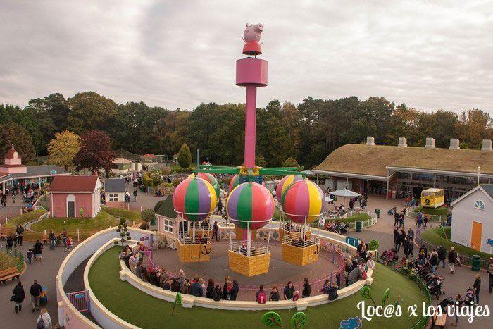 Viajar con nios Peppa Pig World el parque de Peppa Pig  Locos