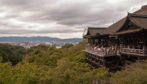 Kioto visto desde el Templo Koyumizudera