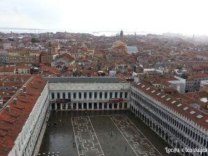 Piazza San Marcos desde el Campanile