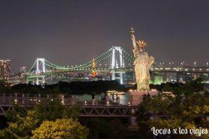 Tokio: Estatua de la Libertad en Odaiba