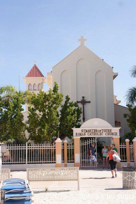 Philipsburg: iglesia de San Martín