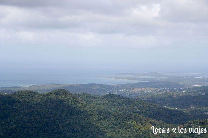 Parque Nacional de El Yunque: Vistas desde la Torre Yokahu