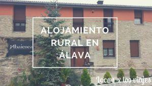 alojamiento rural Álava