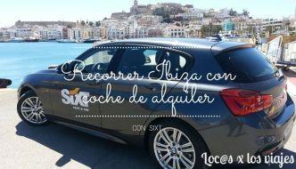 Recorrer Ibiza con coche de alquiler
