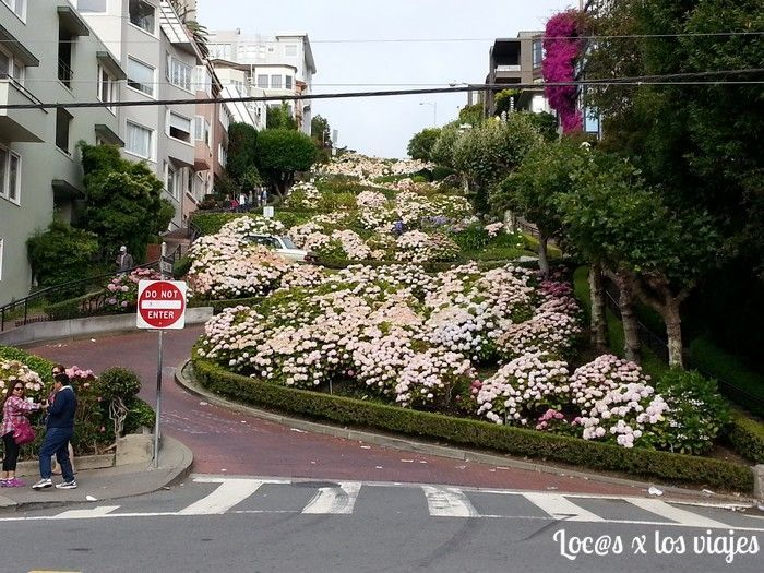 Roadtrip Costa Oeste: Lombard Street en San Francisco