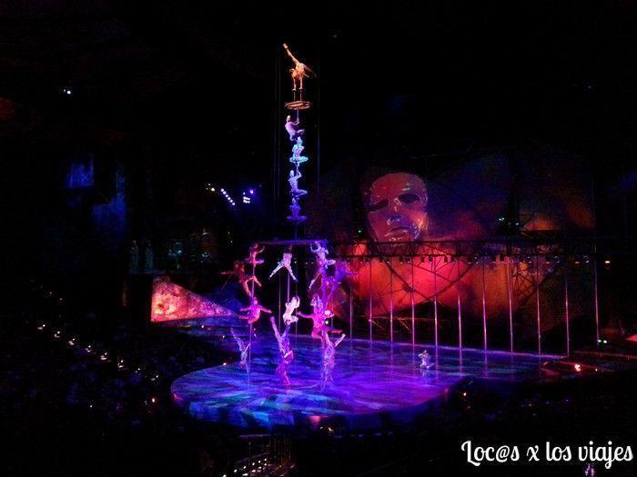 Espectáculo del Cirque du Soleil en Las Vegas