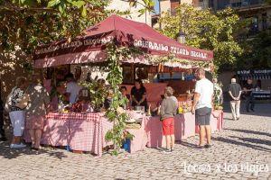 Stand de Fiesta de la Vendimia de la Rioja Alavesa