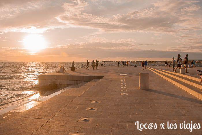 Zadar: Órgano del Mar