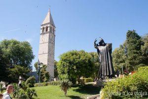 Split: Estatua del obispo Gregorio de Nin