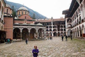 Bulgaria con niños: Monasterio de Rila