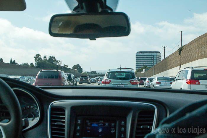 Rumbo a California: atascados en Los Ángeles