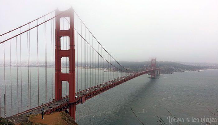 California: Golden Gate, icono de San Francisco