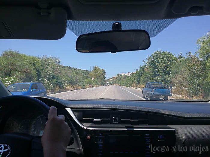 Grecia con niños: Conduciendo en Grecia