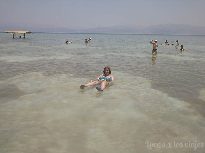 Israel con niños: En el Mar Muerto