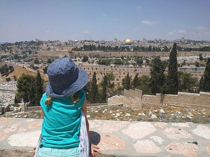 Israel con niños seguro