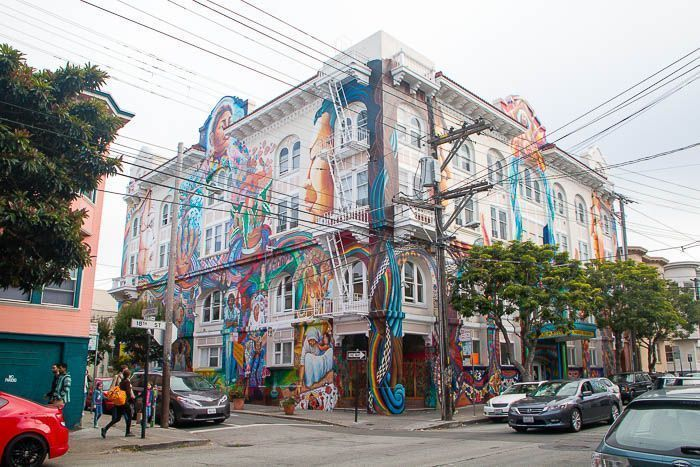 San Francisco: Grafitis en Mission District
