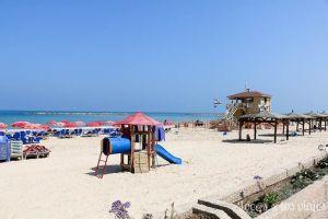 Israel con niños: Playa de Tel Aviv