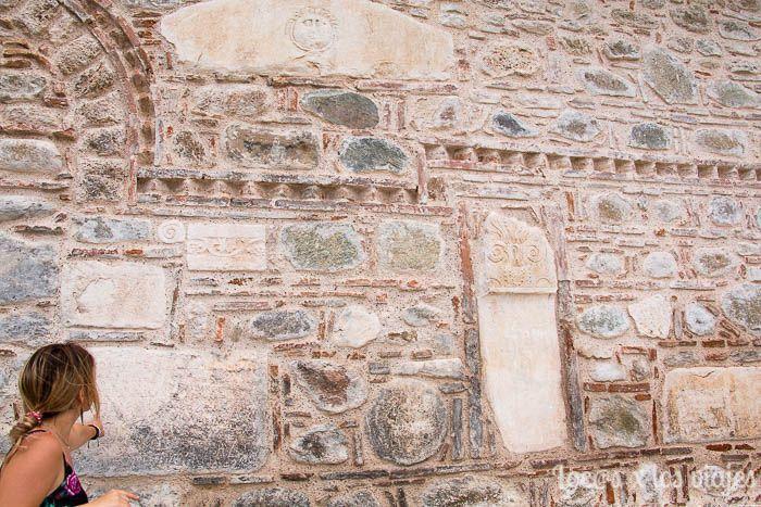 Meteora al atardecer: iglesia de la Asunción