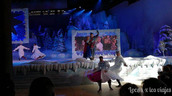 La Reine des Neiges - Espectáculo de Frozen en Disneyland París
