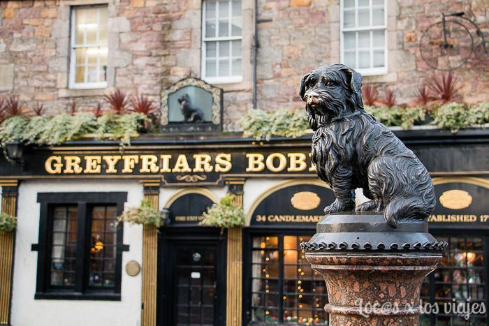Edimburgo con niños: Greyfriars Bobby