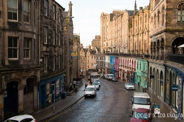 Edimburgo con niños: Victoria Street