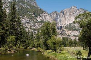 Mirror Lake en Yosemite