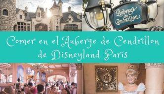Comer en el Auberge de Cendrillon de Disneyland París