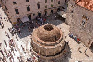 Dubrovnik: Fuente de Onofrio