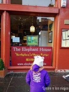 Edimburgo con niños: The Elephant House