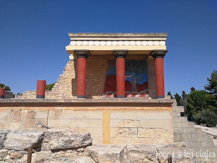 Grecia: Palacio de Cnossos en Creta