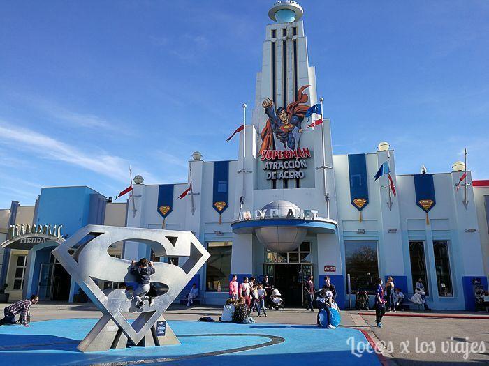 Parque Warner: Superman Atracción de Acero