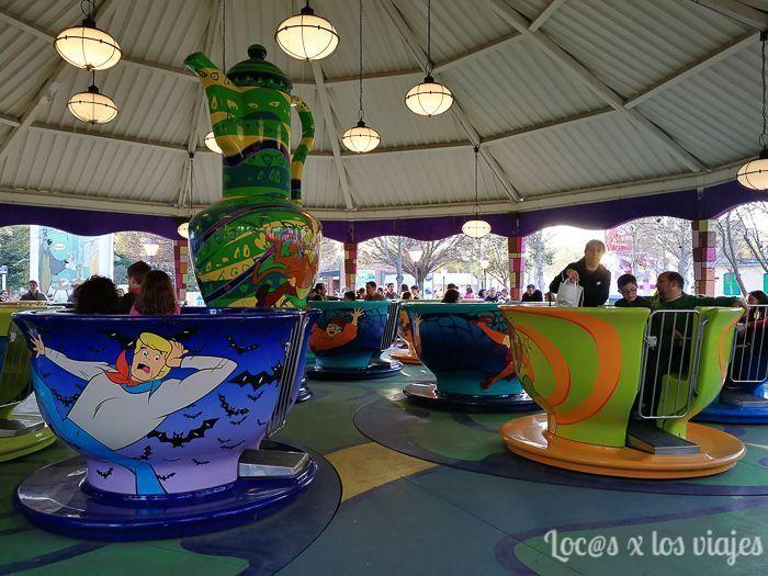Parque Warner: Tazas de Scooby Doo