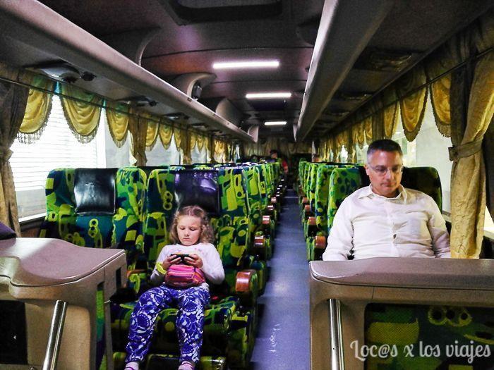 En el autobús VIP a Cameron Highland