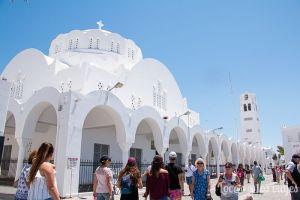 Santorini: Catedral Ortodoxa de Fira