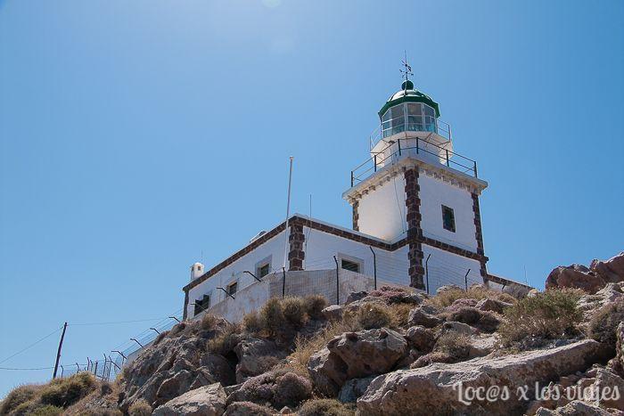 Santorini: Faro de Akrotiri