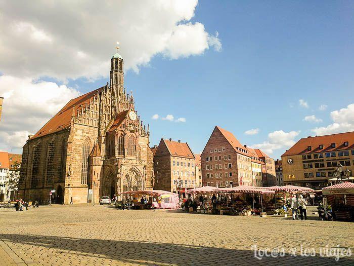 Plaza del Mercado de Nuremberg