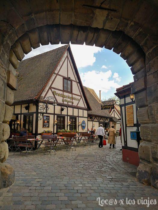 Handwerkerhof en Nuremberg