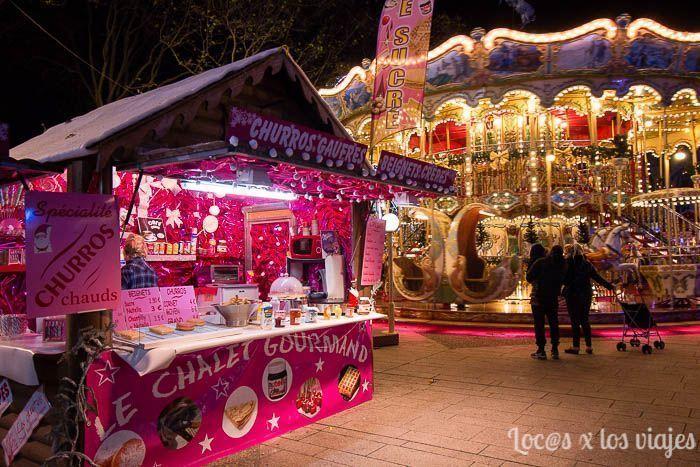 Mercado de Navidad en Carcassonne