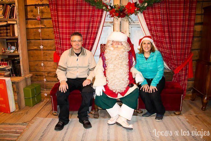 Con Papá Noel en Santa Park
